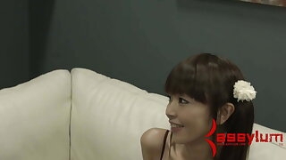 Asian BDSM face fuck – teen bound and dominated